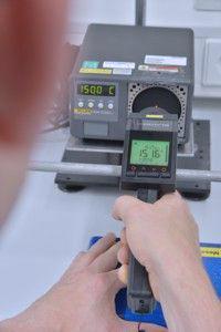 Kalibrierung eines Infrarotthermometers