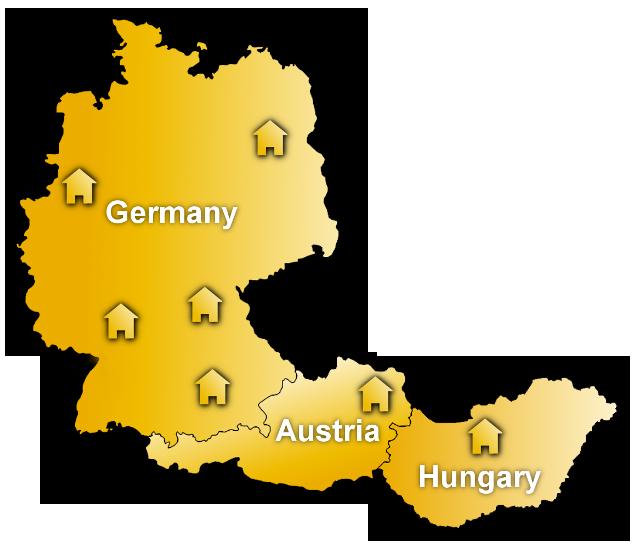 esz AG Standorte